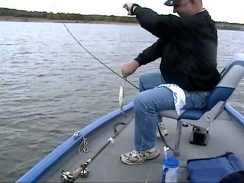 Fishing truman lake white bass oct 2010 part 6 youtube for Truman lake fishing report