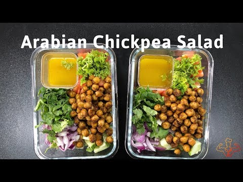 2-Meal Prep: Arabian Chickpea Salad