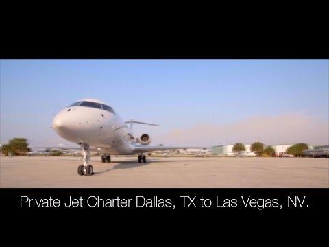 Private Jet Charter Dallas, TX to Las Vegas, NV