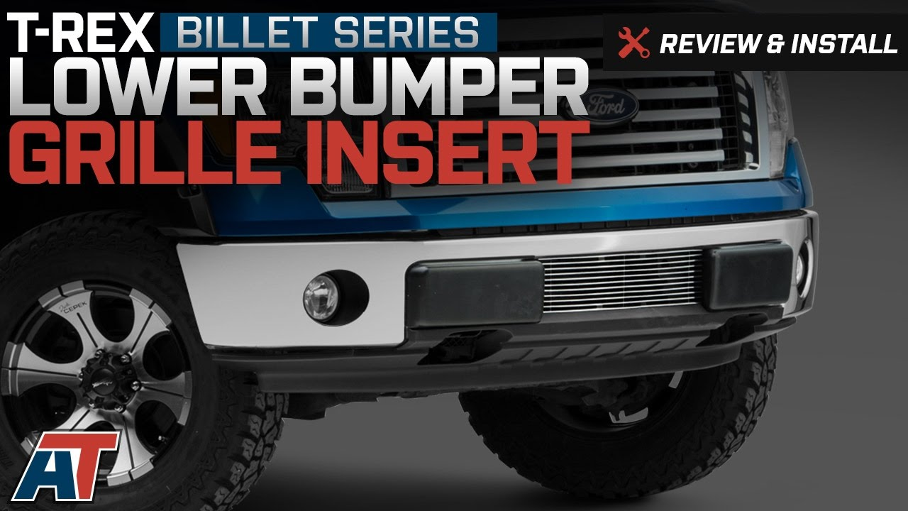 2009 2014 f150 t rex billet series lower bumper grille insert review install americantrucks ford