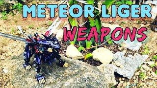 Zoids Meteor Liger Weapons Talk