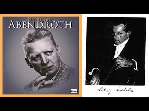 """Dvorak """"Cello Concerto"""" Ludwig Hoelscher/Hermann Abendroth"""