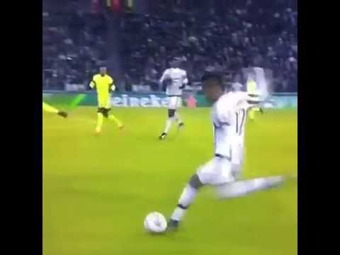 Il Goal Di Mario Mandzukic!!!   JUVE-CITY 1-0
