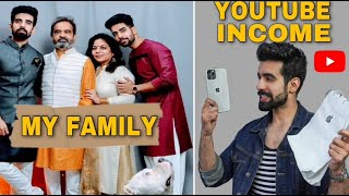YOUTUBE Income REVEALED& FAMILY+ HOME TOUR |PRANK CALL @KARAN SEHGAL |I PHONE 12 PRO MAX UNBOXING