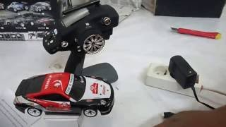 Unboxing RC car drift 1:28 WL toys k969 - indonesia
