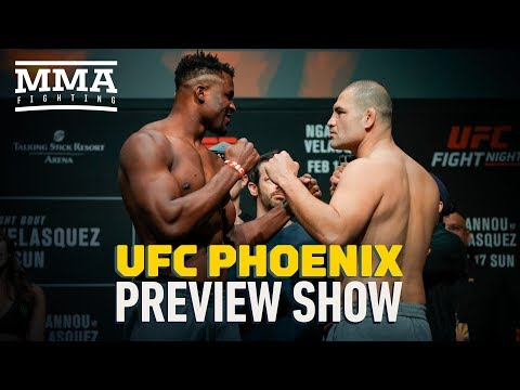 UFC Phoenix Preview Show - MMA Fighting