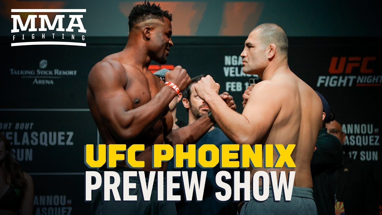 Ufc Phoenix Preview Show Mma Fighting