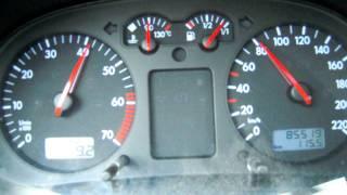 VW Golf 4 1.4 L 16V 0-100 km/h acceleration Beschleunigung