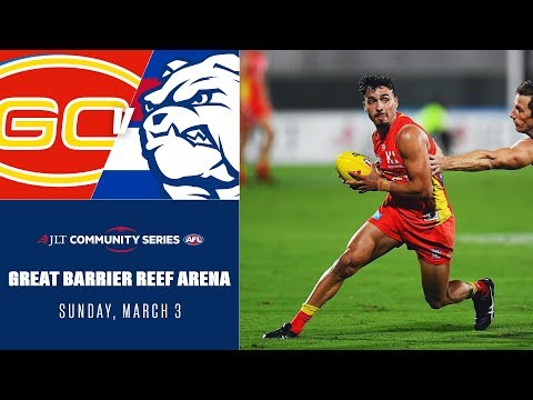 Rankine turns heads in Suns win | Gold Coast v Western Bulldogs Highlights | JLT 2019 | AFL