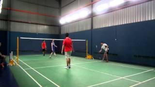 Palmspring Badminton Club - John/Jon - Ben/Stan