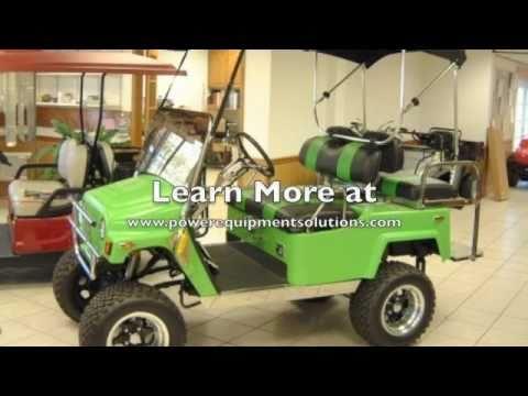2005 E-Z-GO Custom Golf Cart With Jeep CJ Body Kit