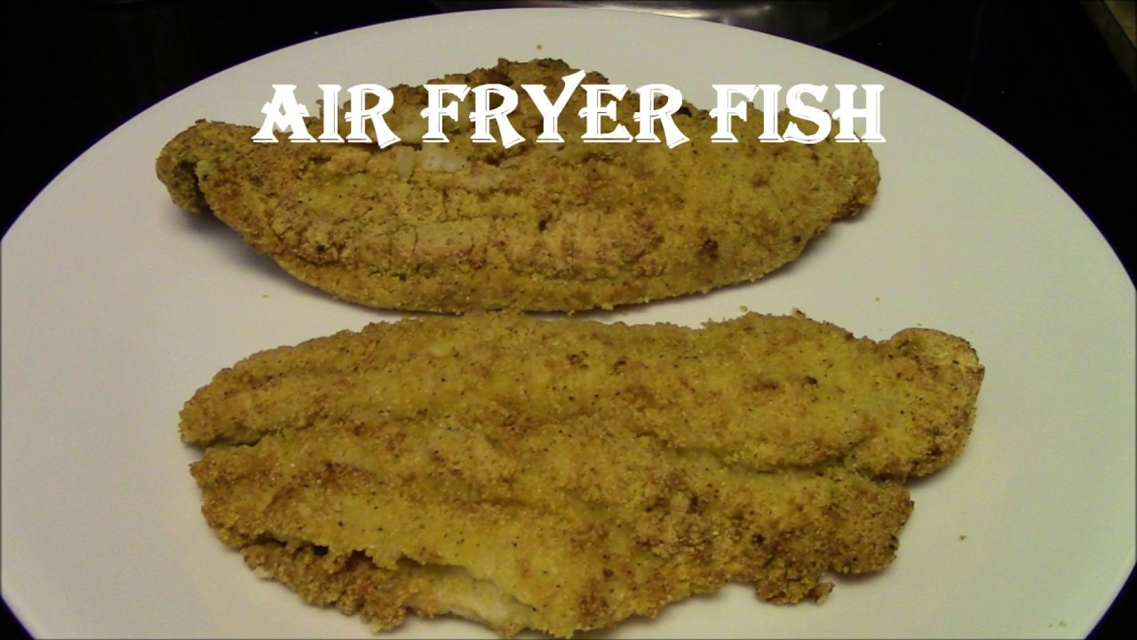 Air fryer catfish power air fryer xl youtube for Air fryer fish