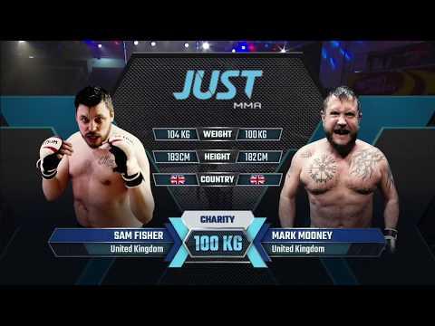 [ JUST CKF - Hong Kong 2,  Heavyweight Charity Bout #1  ] Sam Fisher vs Mark Mooney