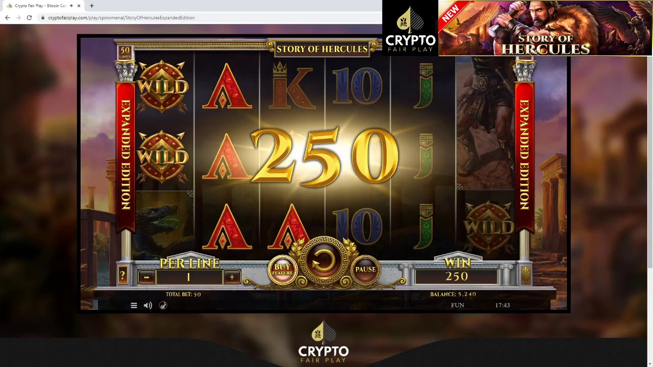 Tales Of Hercules Slot Machine