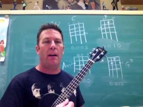 How To Read Ukulele Chord Charts Youtube