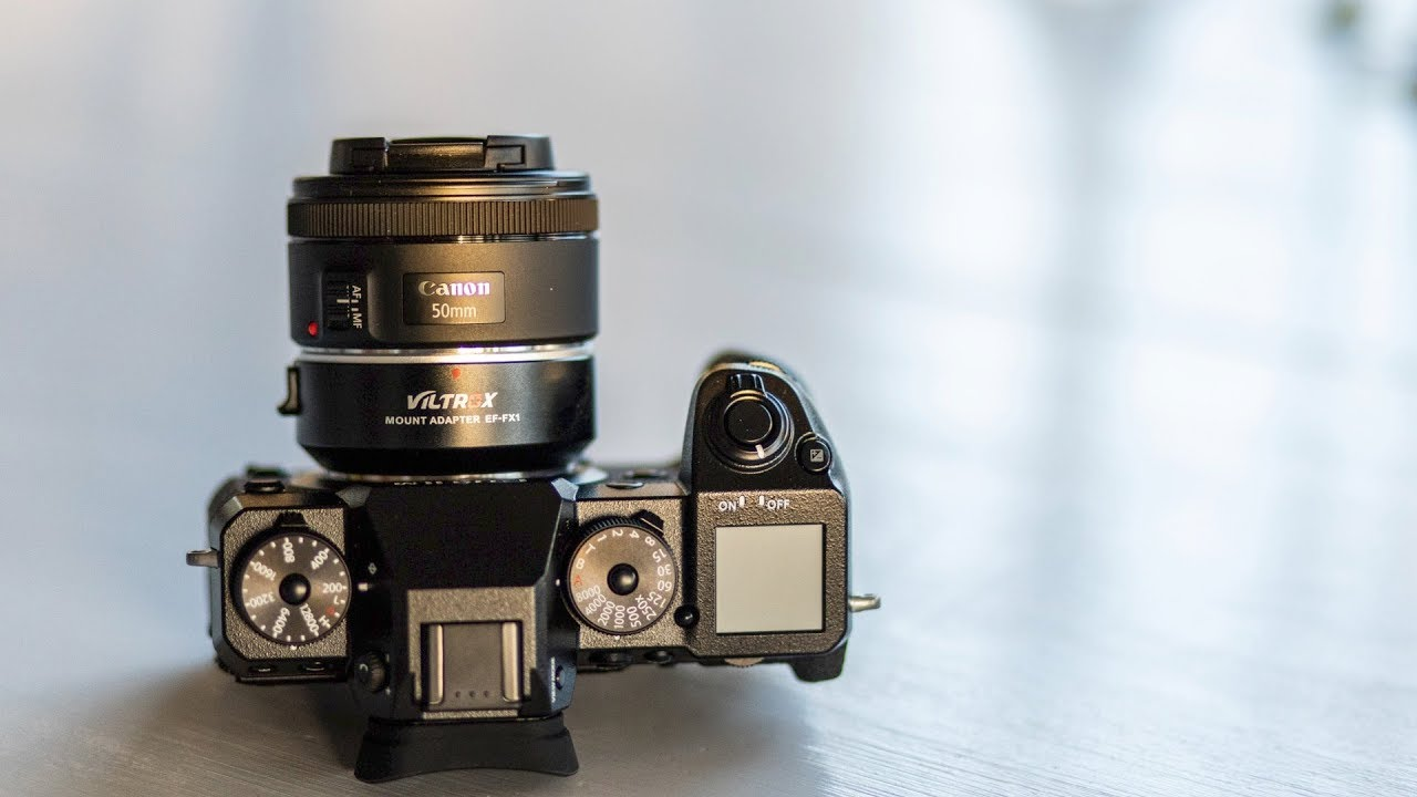 Canon EF lenses on Fujifilm with Auto Focus - Viltrox EF-FX1 Adapter