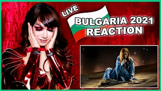 Bulgaria | Eurovision 2021 Reaction | Victoria - Growing Up Is Getting Old - LIVE