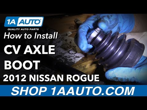 How to Replace Passenger CV Axle Inner Boot 07-13 Nissan Rogue