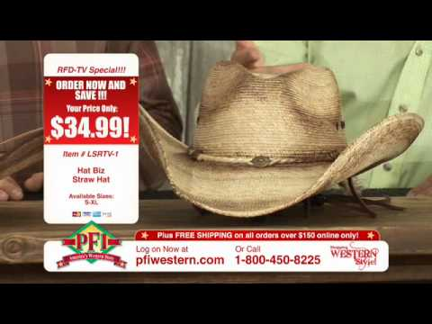 Hat Biz Fashion Palm Leaf Cowboy Hats - YouTube 32f4740c6fe6