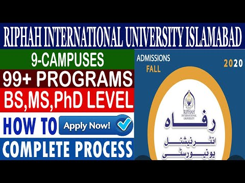 how-to-apply-online,-riphah-internatioonal-university,-campuses-fall-admissions-2020,
