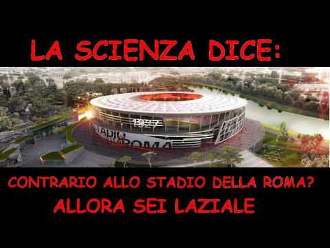 Contrario Allo STADIO DELLA ROMA? Allora Sei Laziale. La Scienza Lo Conferma!