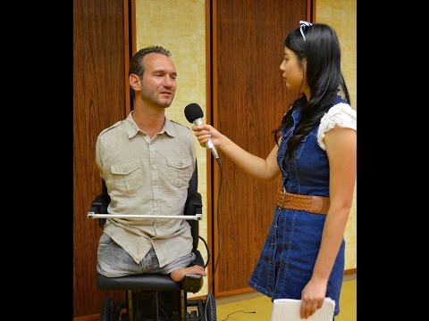 Interview with Nick Vujicic