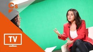 """Inés Arrimadas. Entrevista en """"Mes 324"""" del canal 3/24 (V.O. catalán)"""