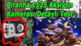 En Ucuz Aksiyon Kamerası PİRANHA 1125 Full HD | Havada, Karada ve Suda TEST