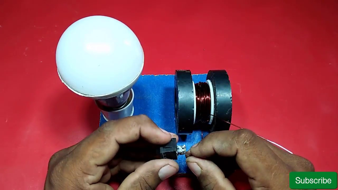 how to making power free energy generator with magnet and copper ...