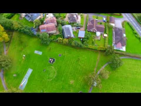 Phantom 4 video of Lincoln Lincolnshire UK