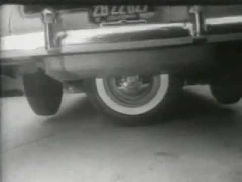 """1951 Cadillac """"Spare Tire"""" Parking"""