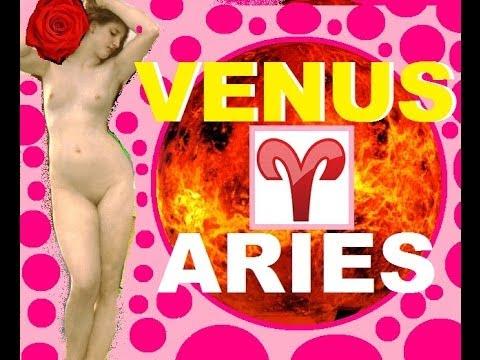 VENUS EN ARIES