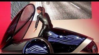 絶妙な透け感のセクシーコンパニオン!東京モーターショー2013 トヨタFV2 thumbnail