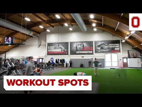Ohio State Campus Workout Spots