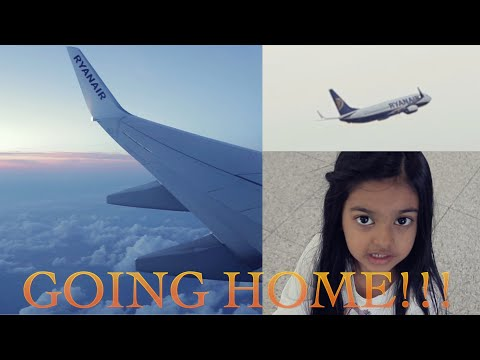 4 Year Old Girl Return Home | LONDON TRIP #3 | Aimalifestyle