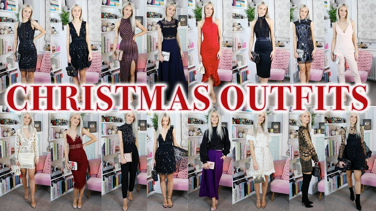 d8c2e6881b 19 CHRISTMAS PARTY OUTFITS  ASOS HAUL AND TRY ON. Inthefrow