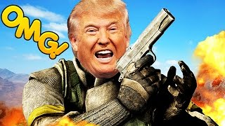 PLAYING XBOX LIVE WITH THE REAL DONALD TRUMP! (Xbox Live Trolling)