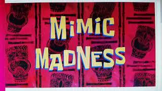 SpongeBob SquarePants - Mimic Madness: Who am I? Instrumental Song