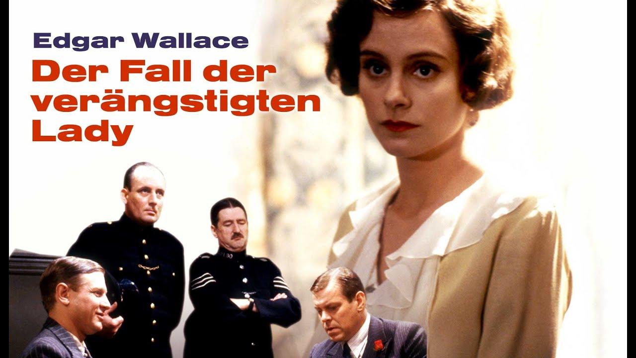 Edgar Wallace: Der Fall der verängstigten Lady (Film-Klassiker, Krimi, Drama, Spielfilm auf Deutsch)