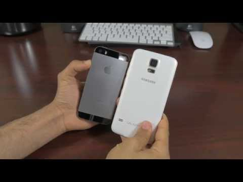 Samsung Galaxy S5 Vs Iphone 5s Cameras