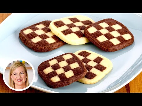 Anna Bakes AMAZING Checkerboard Cookies!