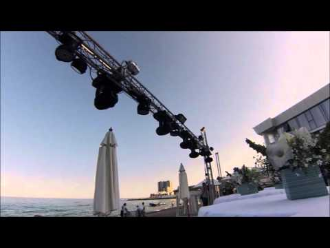 Timelapse setup lighting and sound systems