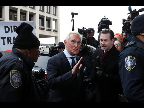 News Wrap: Roger Stone pleads not guilty; Barr vote delayed
