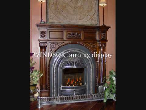 Victorian Fireplace Shop Gas Fireplace Gallery - YouTube