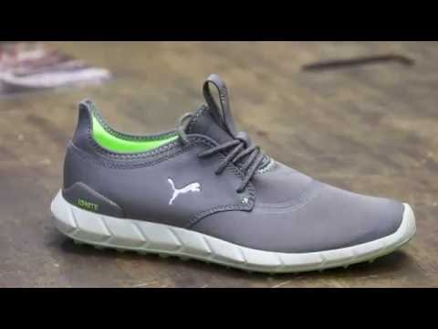 ea0cc74332ba6a Puma Ignite Sport Spikeless Golf Shoe - YouTube