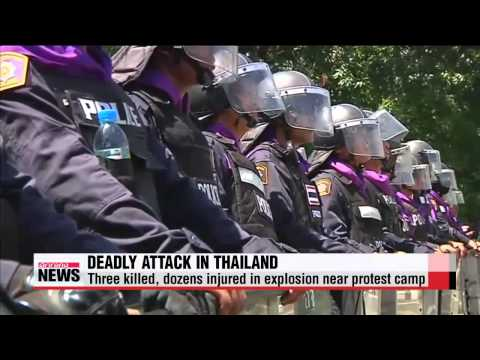 Three killed in deadly attack against Thai protest camp