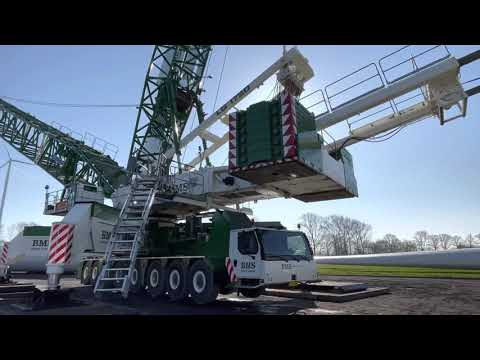 Boom up - LG-1750SX - 165+15 -#BMS-Heavy-Cranes 💪