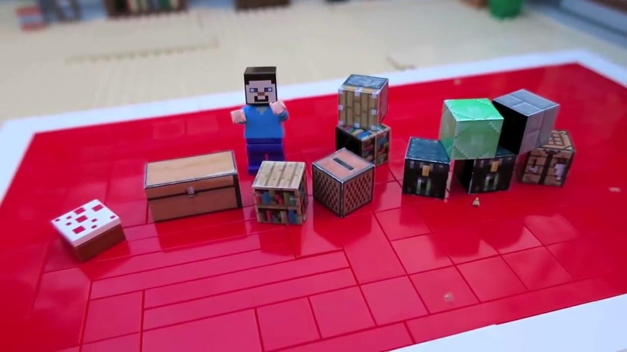 LEGO Vindicator and Evoker - Minecraft - YouTube