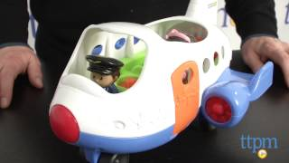 Little People Lil' Movers Airplane From Fisher-price
