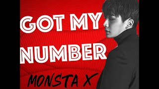 MONSTA X - Got My Number (LYRICS)